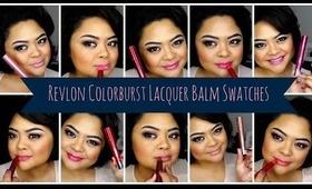Review/Swatches Pt 2. // Revlon Colorburst LACQUER Balms // villabeauTIFFul