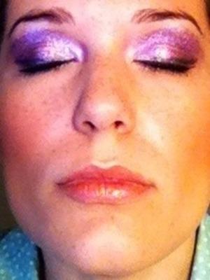 Pretty purple eyes