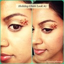 Holiday Glam Look #1