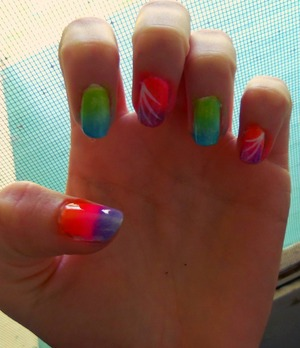 gah, this is totally my newest obsession. Just did them;]