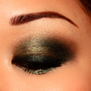 Smokey Green Eyes