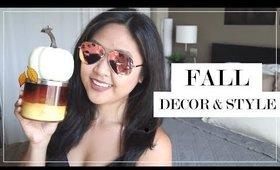 Affordable Home Decor & Style | Fall Season KICK OFF GIVEAWAY!