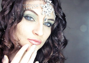 Makeup and look idea for Christmas. Youtube video tutorial soon ;)
