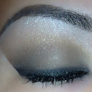 Neutral Smoky Eye With A Little Bit Of Drama!
