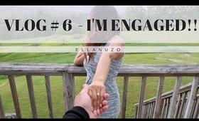 Vlog #6   I'm Engaged + Windham Inn Room Tour!