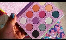 รีวิวเปิดกล่อง Colourpop cosmetics eyeshadow palette