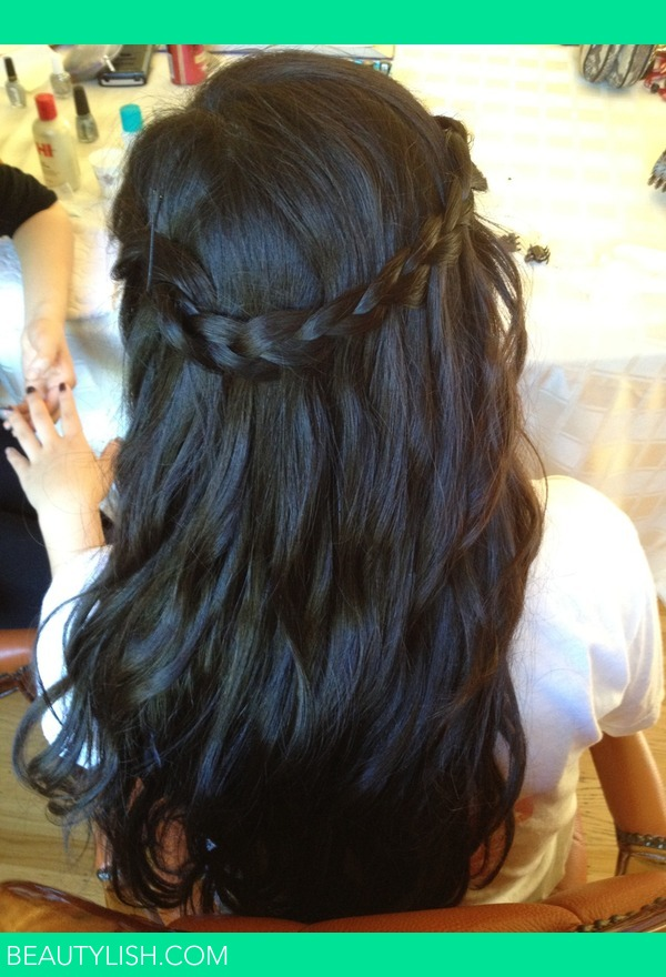 Waterfall Braid With Curlz Janet C S Janetpchu Photo