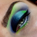 Dramatic green