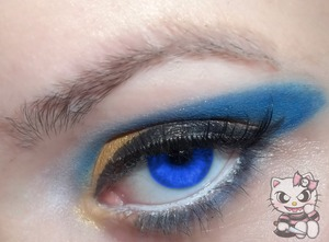 2nd look in my Altador Cup Series for Team Lost Desert featuring Korpse Kosmetics