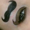 Mustache Makeup!