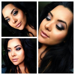 I used the naked 2 palette for this look! Tease verve and blackout!