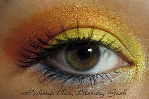 EOTD Fire & Ice You can see what I used for this look here: http://makeupchicliterarygeek.blogspot.com/2011/08/eotd-fire-ice.html