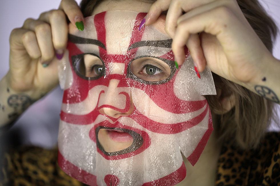 Weird Finds Kabuki Spa Masks From Japan Beautylish - Kabuki-makeup