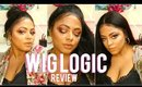 HAIR | (*) BEST FULL LACE WIG EVER! Wig Logic Full Lace Wig Review - Brazilian Body Wave