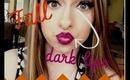 Dark Lips for Fall= TUTORIAL