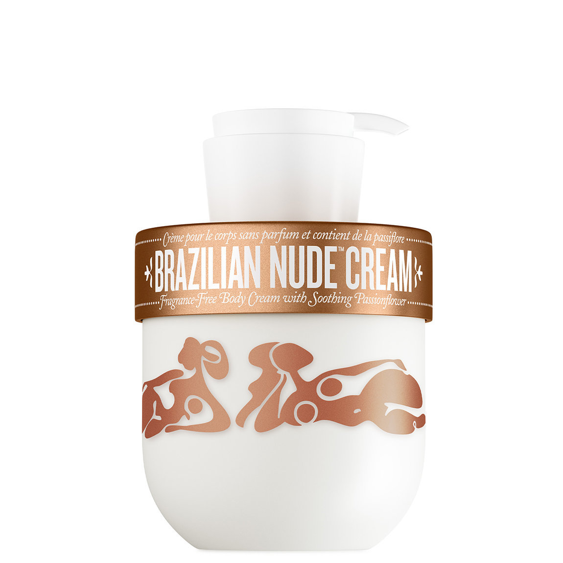 Sol de Janeiro Brazilian Nude Fragrance-Free Body Cream product swatch.