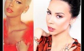 Amber Rose Unleash'd Magazine Inspired Makeup