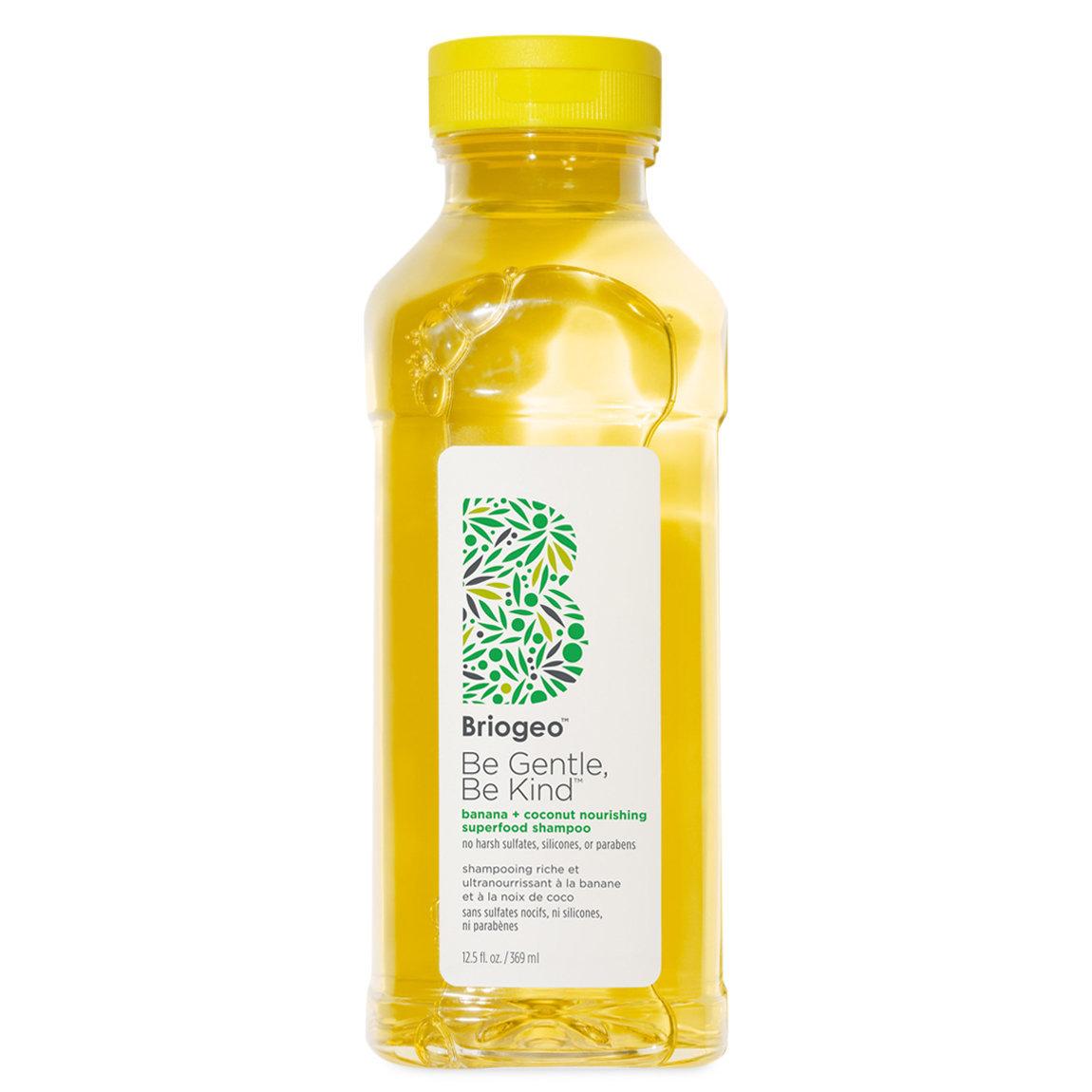 Briogeo Be Gentle, Be Kind Banana + Coconut Nourishing Superfood Shampoo product swatch.