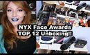 NYX Face Awards | TOP 12 UNBOXING!!