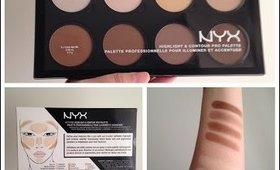 NYX Highlight and Contour Pro Palette REVIEW!!!