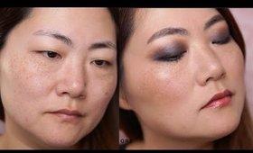 EFFORTLESS SMOKEY LOOK ON ASIAN MONOLID EYES MAKEUP TUTORIAL I Futilities And More