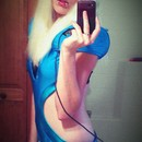 Me as lady gaga for halloween