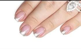 EASY CHROME TUTORIAL FOR GROWN OUT NAILS