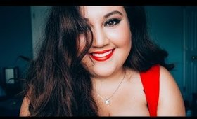 Classic Glam: Red Lip + Winged Liner Makeup Tutorial | Meagan Aguayo