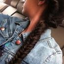 Twist into fishtail braid