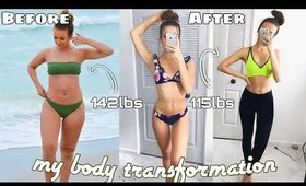HOW I TRANSFORMED MY BODY IN 4 WEEKS! 💦 How To Lose Weight Fast!