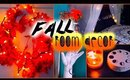 DIY fall room decor: Tumblr inspired