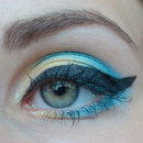 Yellow - blue Make Up
