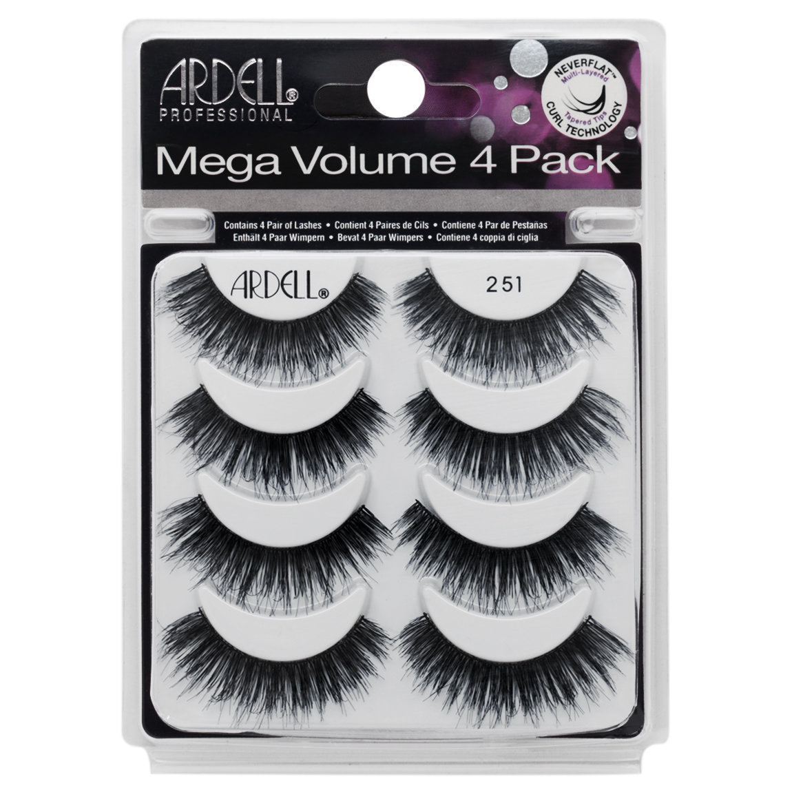 04db6f44a78 Ardell Mega Volume 4 Pack 251 product smear.