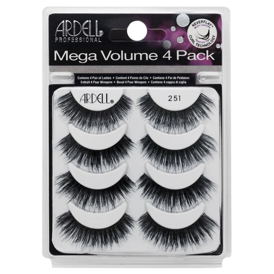 4321452e6c0 Ardell Mega Volume 4 Pack 251 product smear.