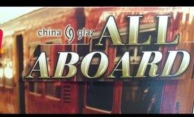 Clearance Alert! China Glaze All Aboard ($3.29 per bottle @SallyBeauty)