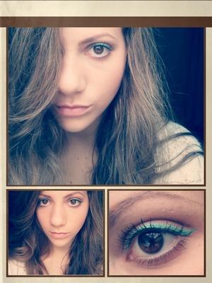 minty eyeliner