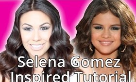 Selena Gomez Inspired Makeup Tutorial 2015