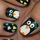 Penguins & Hearts