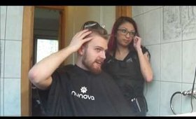 Shaving My Boyfriend's Head!