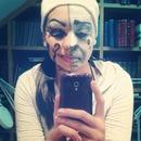 Maquillaje bipolar...