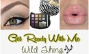 ♡Get Ready With Me♡Hello Kitty Wild Thing Palette♡