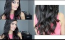 Valentine's Day Hair Tutorial: Loose, Bouncy, Voluminous Curls! ♥