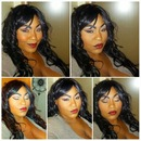 Rhianna-ish Makeup