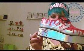 T.U.K x Hello Kitty review