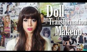 Doll Transformation Makeup