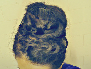 My YouTube hair tutorial can be found here  :)  http://www.youtube.com/watch?v=hw8JXlxFHo8