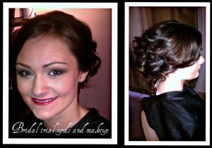 Trial run I did for a client.  Hair & MU