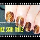 Snakeskin Nails