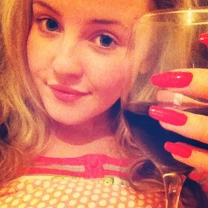 Before my holiday tomorrow with my handsome fiancé; I thought I would treat myself to a glass of wine in bed. Did my nails earlier as I will be busy packing more tomorrow morning. Yes, I have no makeup on and I haven't done my hair but oh well!