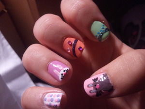 Easter Nails 2011
